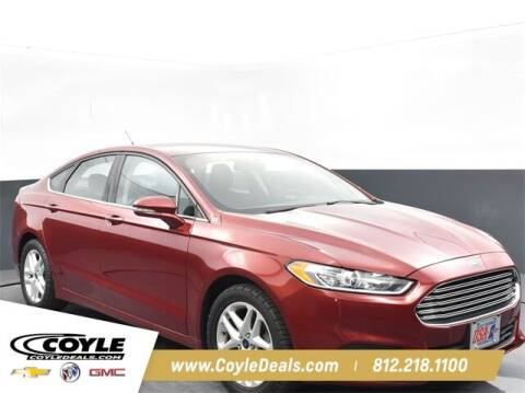 2016 Ford Fusion for sale at COYLE GM - COYLE NISSAN - New Inventory in Clarksville IN
