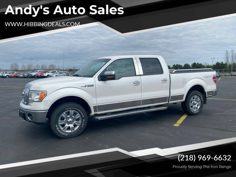 2010 Ford F-150 for sale at Andy's Auto Sales in Hibbing MN