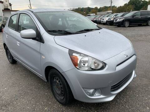 2015 Mitsubishi Mirage for sale at Ron Motor Inc. in Wantage NJ