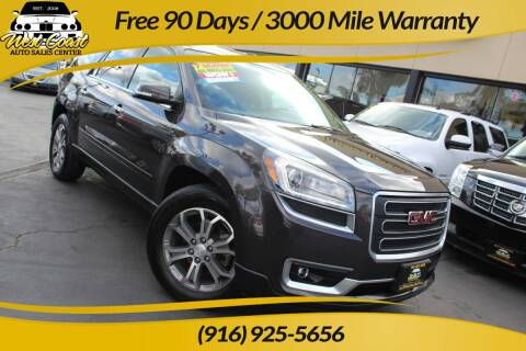 2015 GMC Acadia for sale at West Coast Auto Sales Center in Sacramento CA