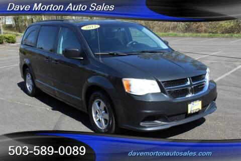 2012 Dodge Grand Caravan for sale at Dave Morton Auto Sales in Salem OR