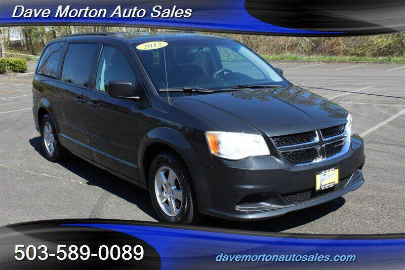 2012 Dodge Grand Caravan for sale at Dave Morton Auto Sales in Salem OR