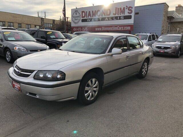 2004 Chevrolet Impala for sale at Diamond Jim's West Allis in West Allis WI