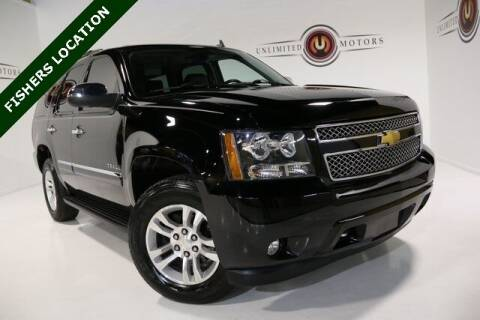2013 Chevrolet Tahoe for sale at Unlimited Motors in Fishers IN