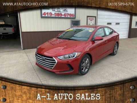 2017 Hyundai Elantra for sale at A-1 AUTO SALES in Mansfield OH