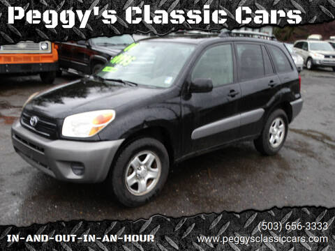 2004 Toyota RAV4 for sale at Peggy's Classic Cars in Oregon City OR