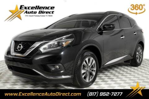 2018 Nissan Murano for sale at Excellence Auto Direct in Euless TX