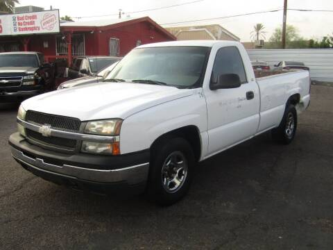 2004 Chevrolet Silverado 1500 for sale at Van Buren Motors in Phoenix AZ