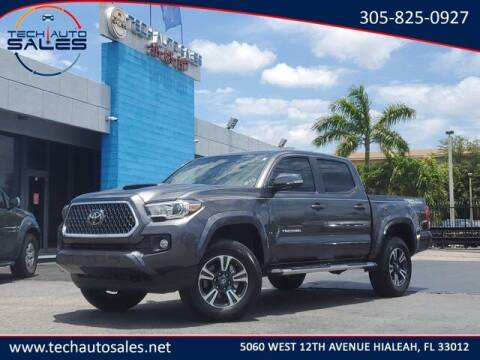 2019 Toyota Tacoma for sale at Tech Auto Sales in Hialeah FL