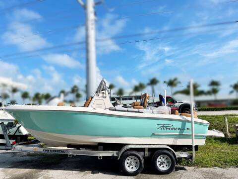 2021 Pioneer 202 Islander for sale at Key West Kia - Wellings Automotive & Suzuki Marine in Marathon FL