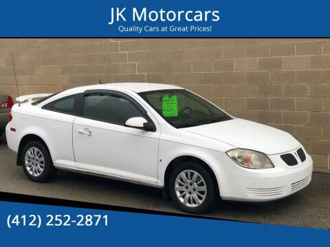 2009 Pontiac G5 for sale at JK Motor Cars in Pittsburgh PA