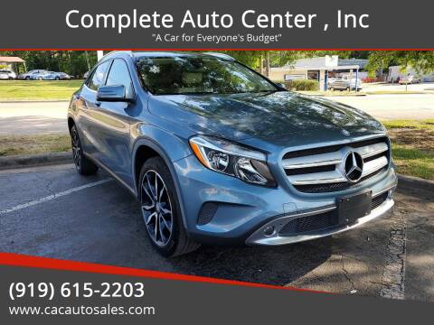 2015 Mercedes-Benz GLA for sale at Complete Auto Center , Inc in Raleigh NC