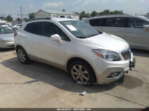 2013 Buick Encore for sale at Varco Motors LLC - Builders in Denison KS