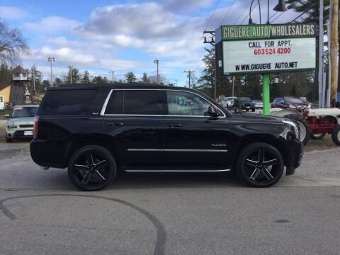 2016 GMC Yukon for sale at Giguere Auto Wholesalers in Tilton NH
