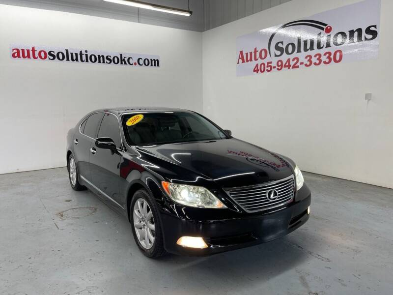 2008 Lexus LS 460 for sale at Auto Solutions in Warr Acres OK