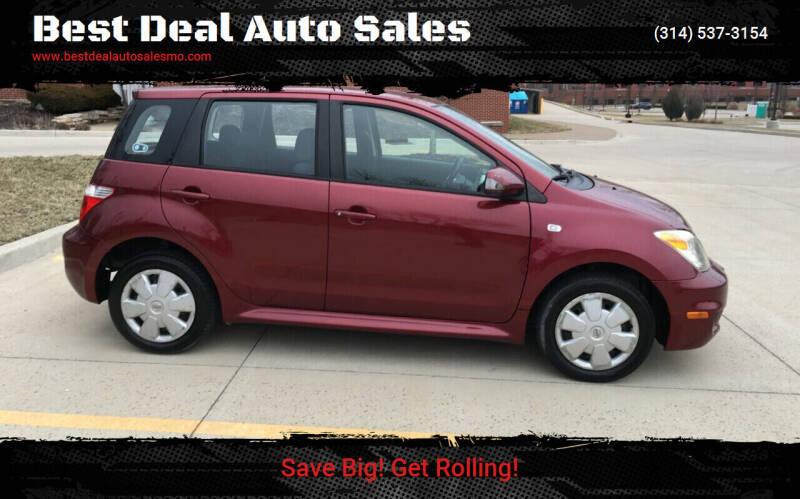 2006 Scion xA for sale at Best Deal Auto Sales in Saint Charles MO
