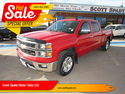 2015 Chevrolet Silverado 1500 for sale at Scott Spady Motor Sales LLC in Hastings NE