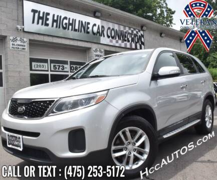 2015 Kia Sorento for sale at The Highline Car Connection in Waterbury CT