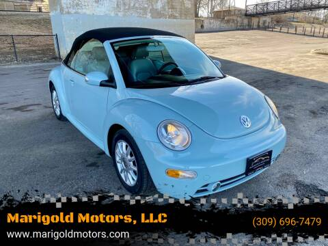 2004 Volkswagen New Beetle Convertible for sale at Marigold Motors, LLC in Pekin IL