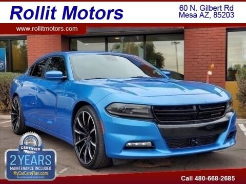2016 Dodge Charger for sale at Rollit Motors in Mesa AZ