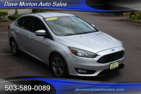 2016 Ford Focus for sale at Dave Morton Auto Sales in Salem OR