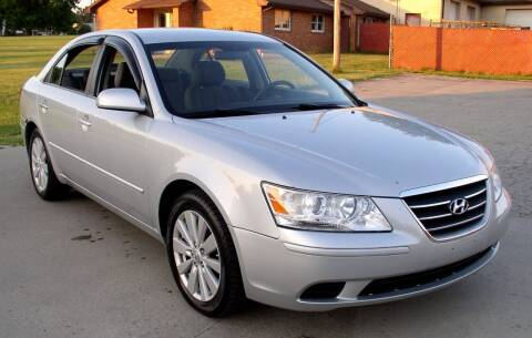2010 Hyundai Sonata for sale at Angelo's Auto Sales in Lowellville OH