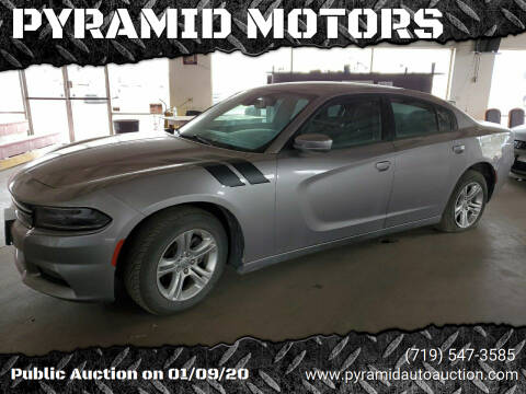2017 Dodge Charger for sale at PYRAMID MOTORS - Pueblo Lot in Pueblo CO
