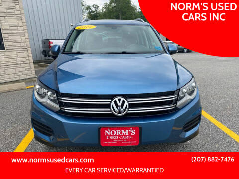 2017 Volkswagen Tiguan for sale at NORM'S USED CARS INC in Wiscasset ME