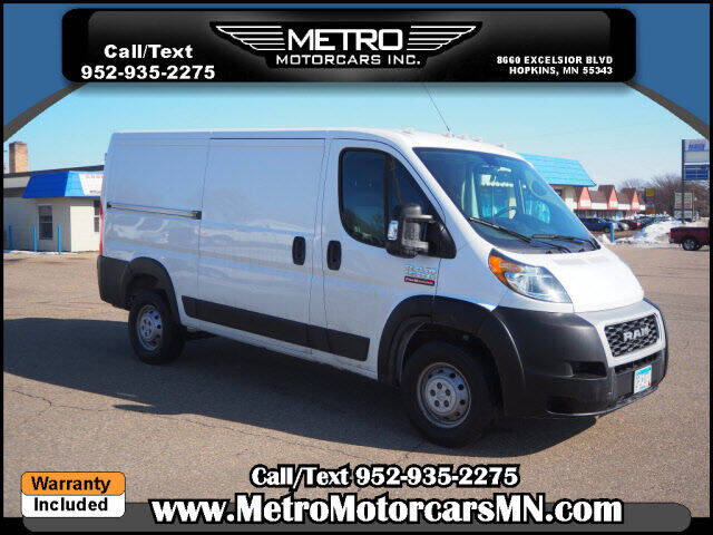 2019 RAM ProMaster Cargo for sale at Metro Motorcars Inc in Hopkins MN