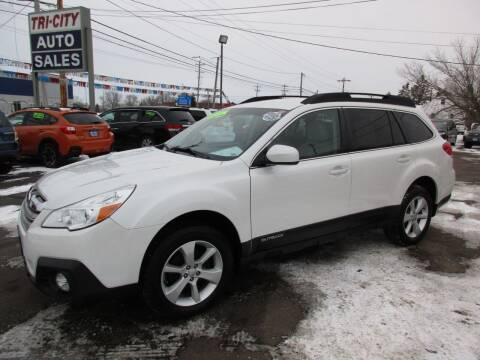 2014 Subaru Outback for sale at TRI CITY AUTO SALES LLC in Menasha WI