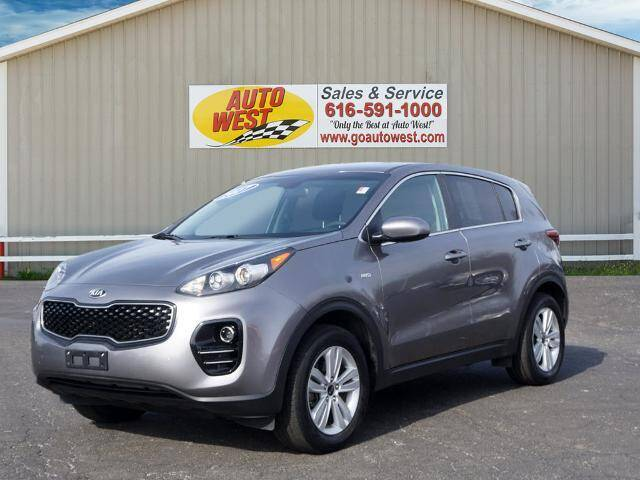 2017 Kia Sportage for sale at Autowest of GR in Grand Rapids MI