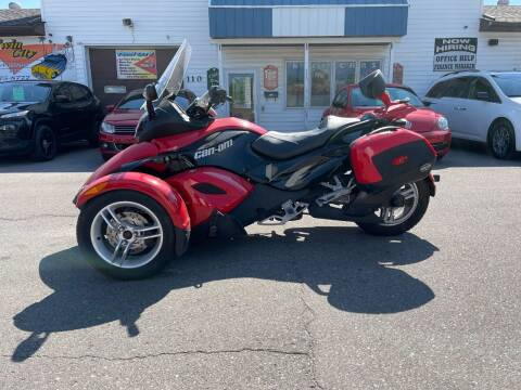 2010 Can-Am Spyder for sale at Twin City Motors in Grand Forks ND