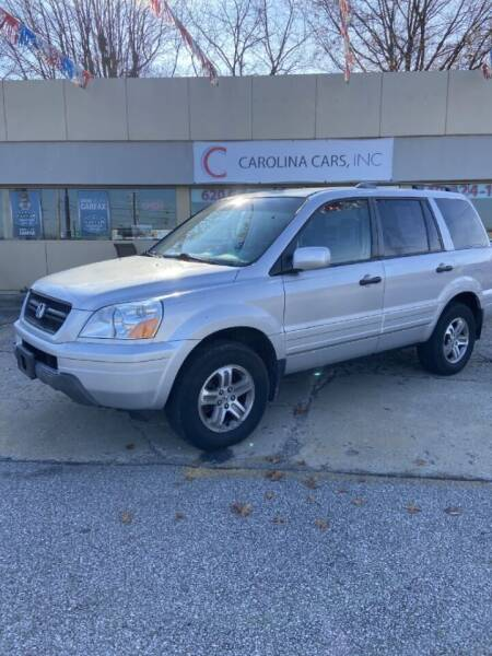 2003 Honda Pilot for sale at Carolina Cars, Inc. in Elyria OH