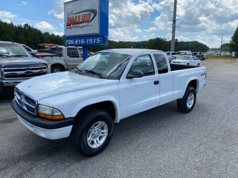 2004 Dodge Dakota for sale at Billy Ballew Motorsports in Dawsonville GA