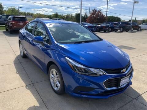 2018 Chevrolet Cruze for sale at Ganley Chevy of Aurora in Aurora OH