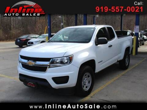 2017 Chevrolet Colorado for sale at Inline Auto Sales in Fuquay Varina NC
