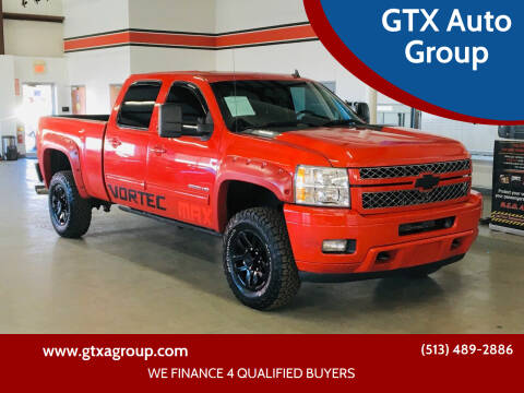 2012 Chevrolet Silverado 2500HD for sale at GTX Auto Group in West Chester OH