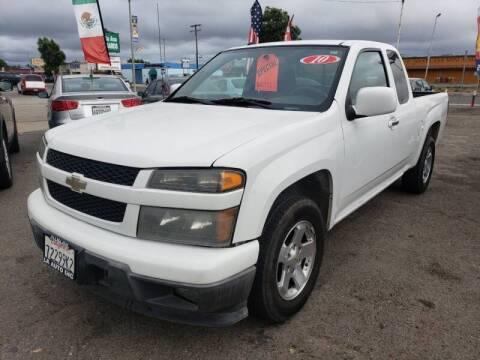 2010 Chevrolet Colorado for sale at LR AUTO INC in Santa Ana CA