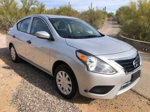 2019 Nissan Versa for sale at Auto Executives in Tucson AZ