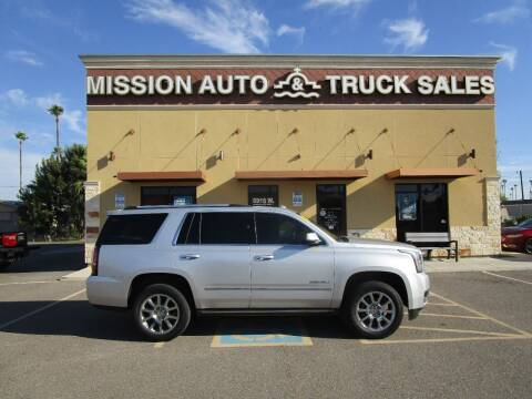 2015 GMC Yukon for sale at Mission Auto & Truck Sales, Inc. in Mission TX