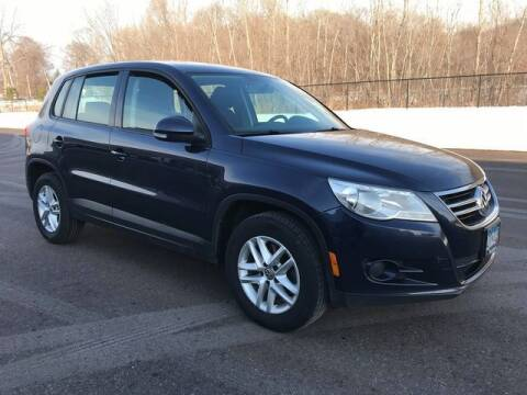 2011 Volkswagen Tiguan for sale at Angies Auto Sales LLC in Newport MN