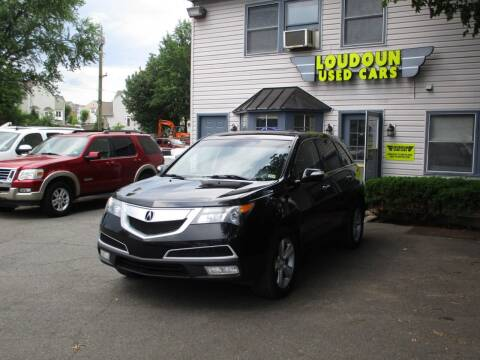 2012 Acura MDX for sale at Loudoun Used Cars in Leesburg VA
