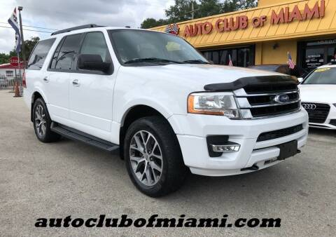 2016 Ford Expedition for sale at AUTO CLUB OF MIAMI, INC in Miami FL
