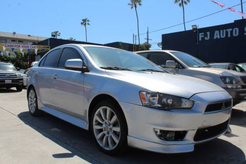 2010 Mitsubishi Lancer for sale at FJ Auto Sales North Hollywood in North Hollywood CA