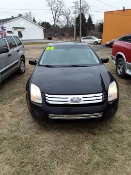 2008 Ford Fusion for sale at Fansy Cars in Mount Morris MI