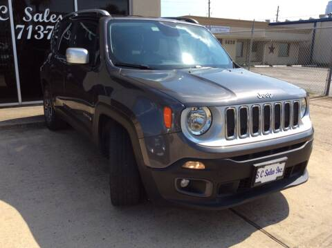 2016 Jeep Renegade for sale at SC SALES INC in Houston TX