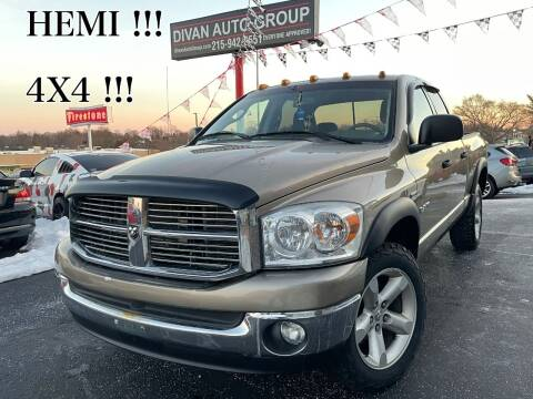 2008 Dodge Ram Pickup 1500 for sale at Divan Auto Group in Feasterville PA
