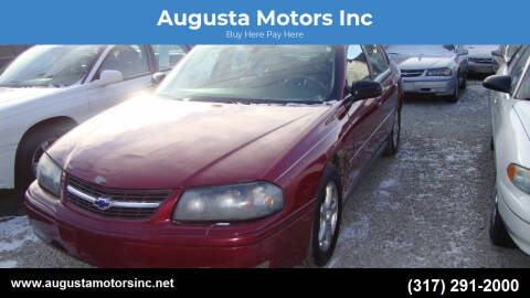 2005 Chevrolet Impala for sale at Augusta Motors Inc in Indianapolis IN