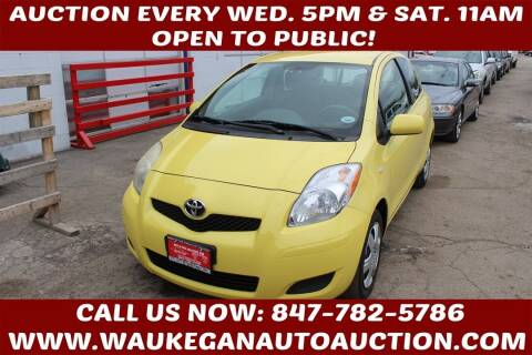 2010 Toyota Yaris for sale at Waukegan Auto Auction in Waukegan IL