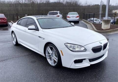 2014 BMW 6 Series for sale at CU Carfinders in Norcross GA